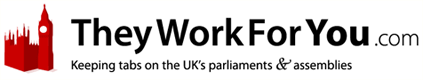 TheyWorkForYou - Hansard and Official Reports for the UK Parliament, Scottish Parliament, and Northern Ireland Assembly