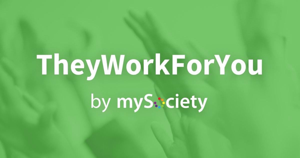www.theyworkforyou.com