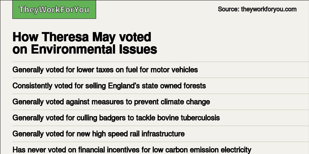 Electoral history of Theresa May